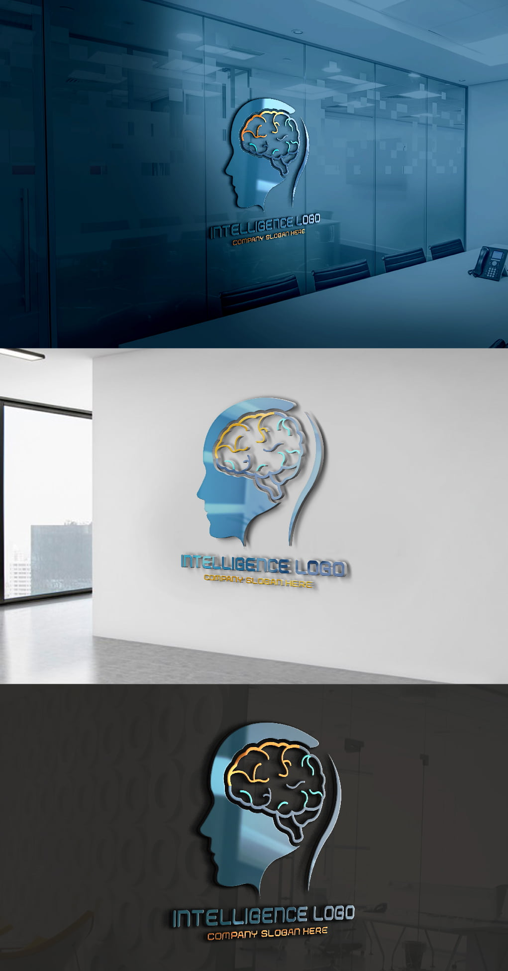 Artificial intelligence Logo Free Template