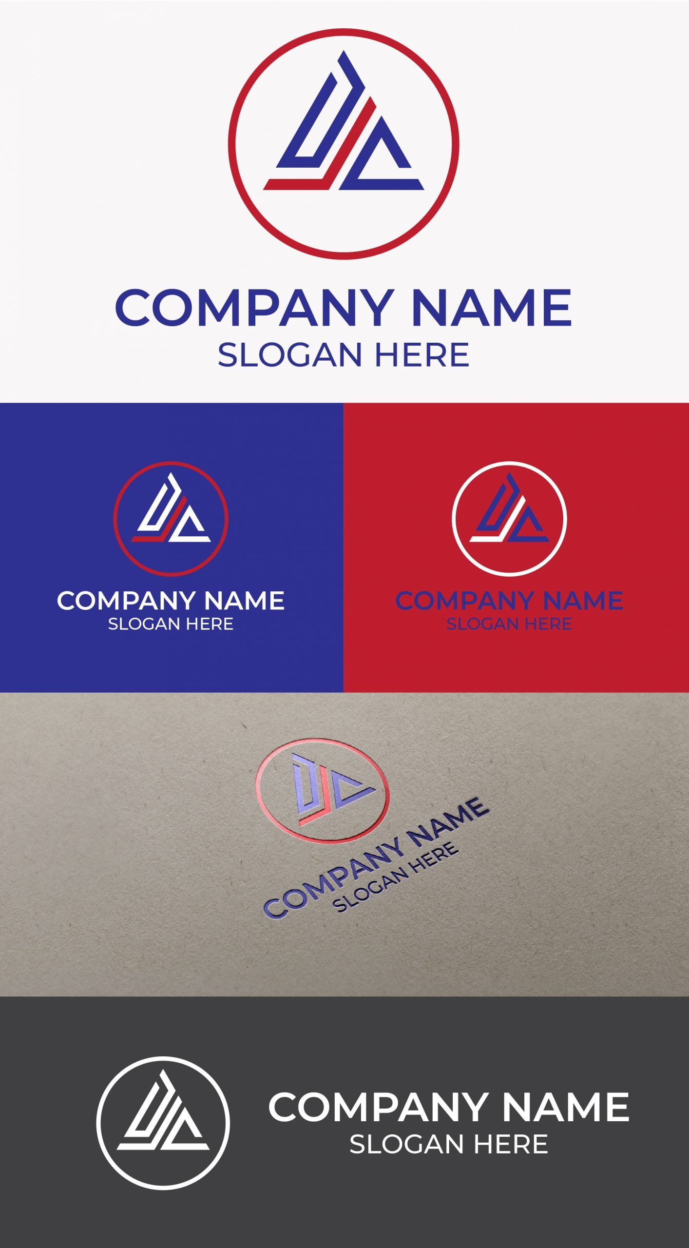 DJC Logo Free Template