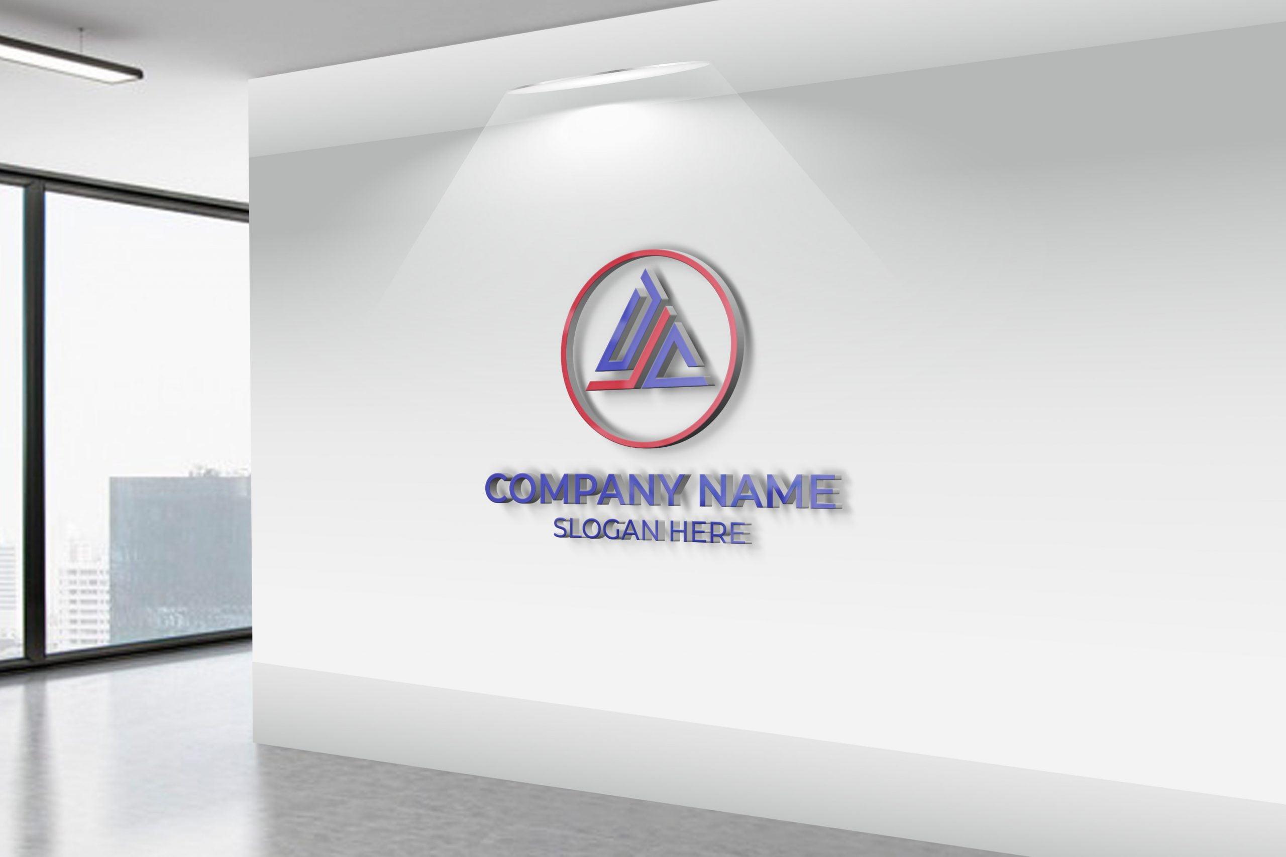 DJC Logo on office Wall