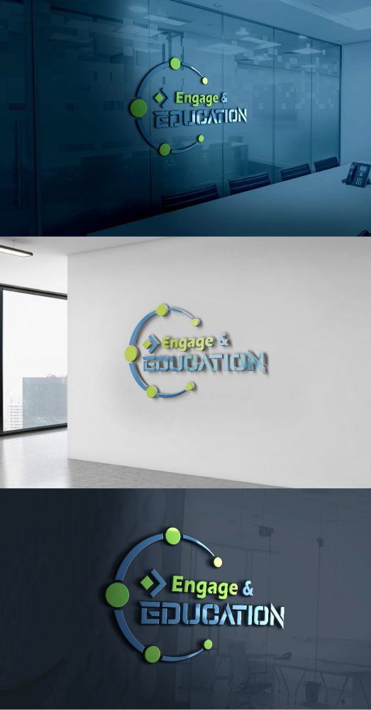 Engage-in-Education-Logo-Design-Template