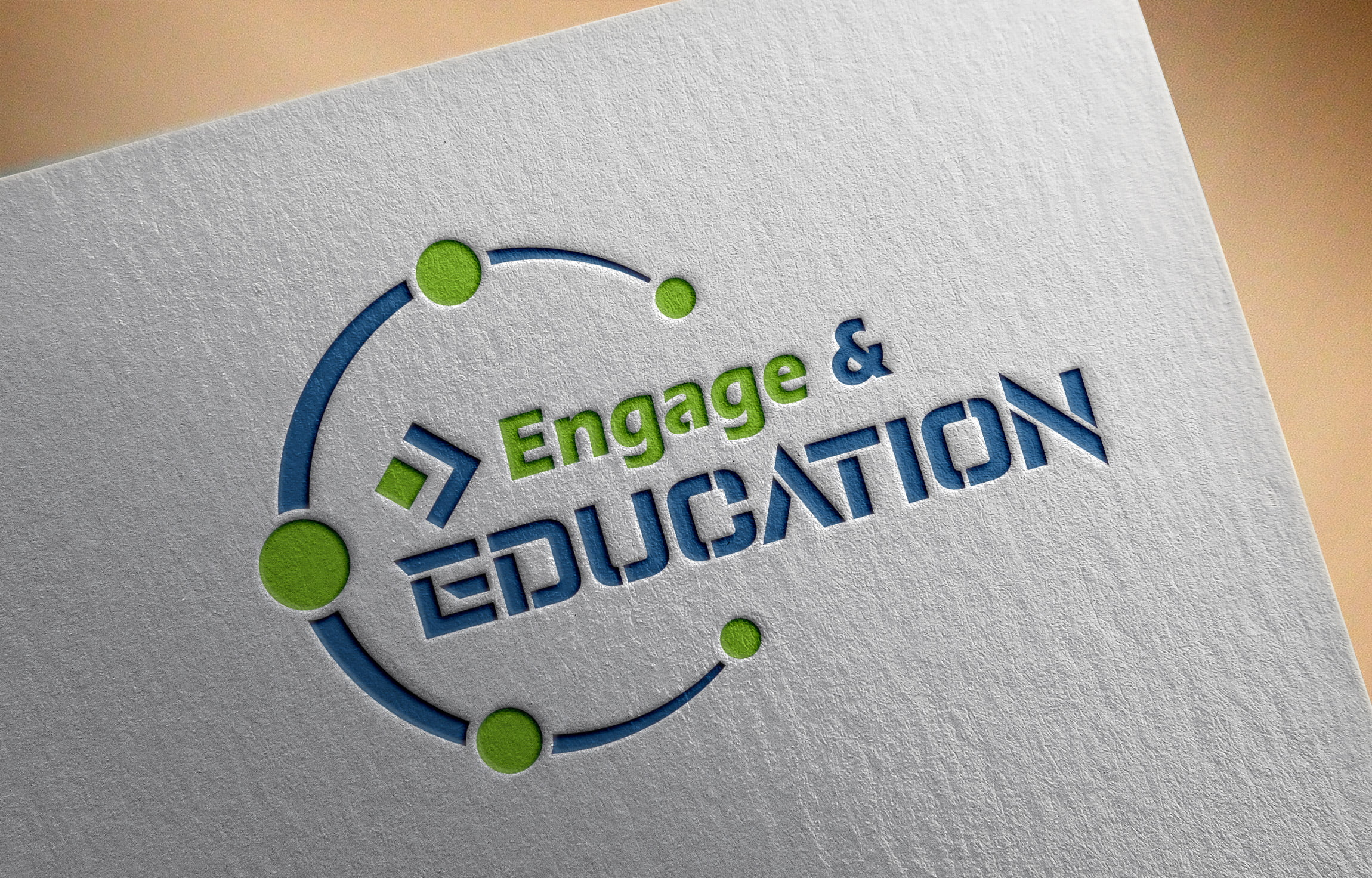 Engage in Education Logo on white paper