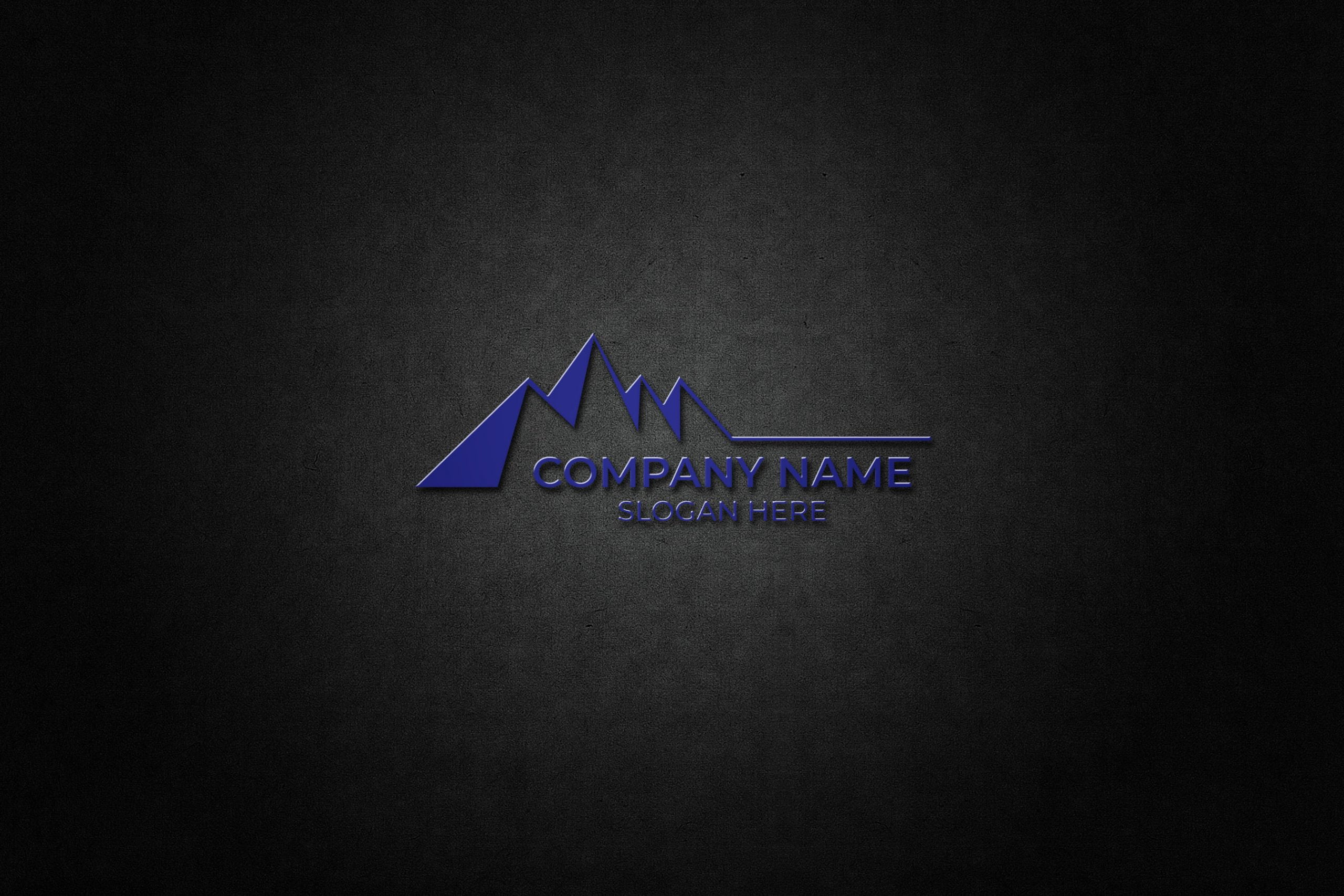 Free Mountain logo vector