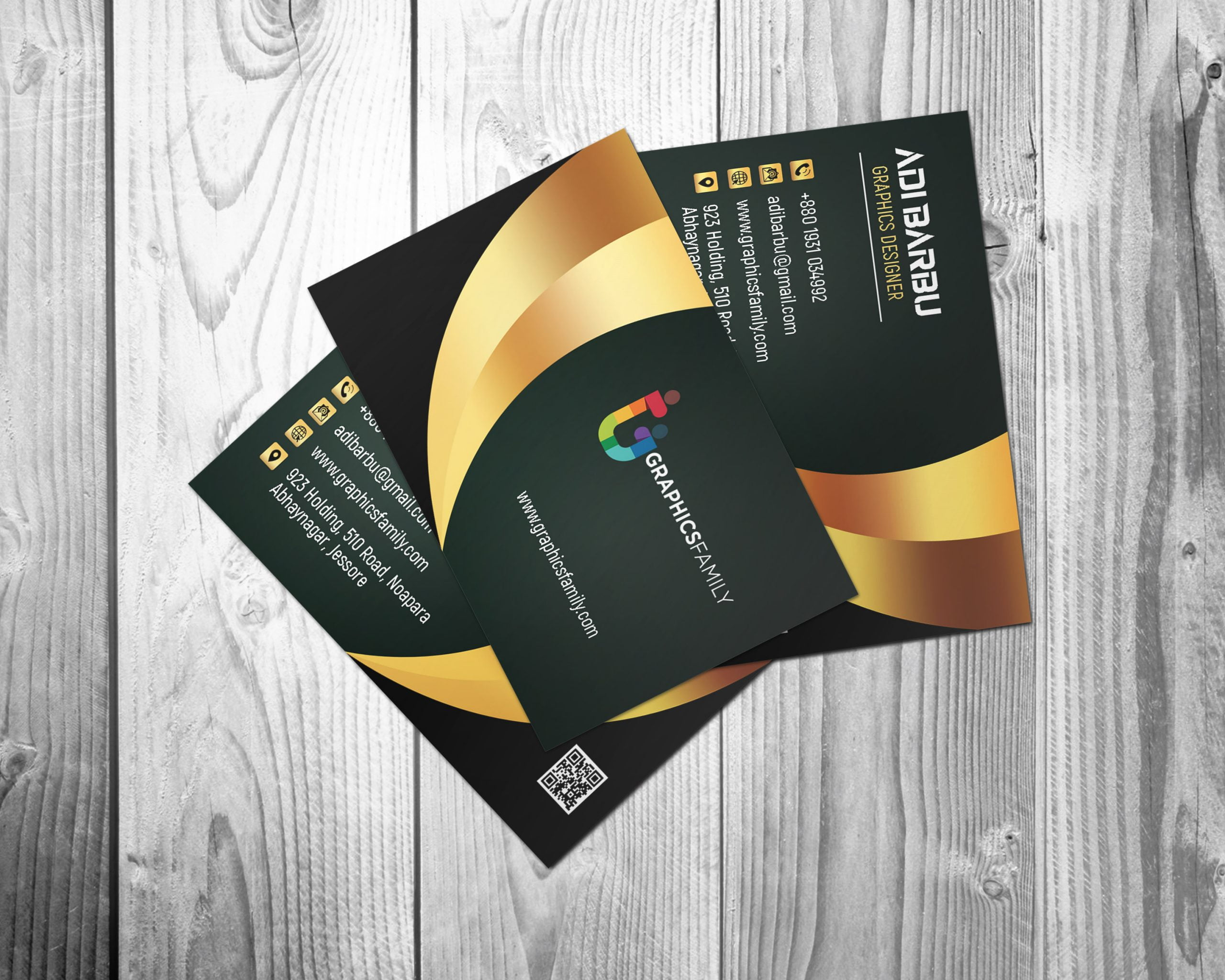Luxury Business Card Design For Branch Manager Free psd