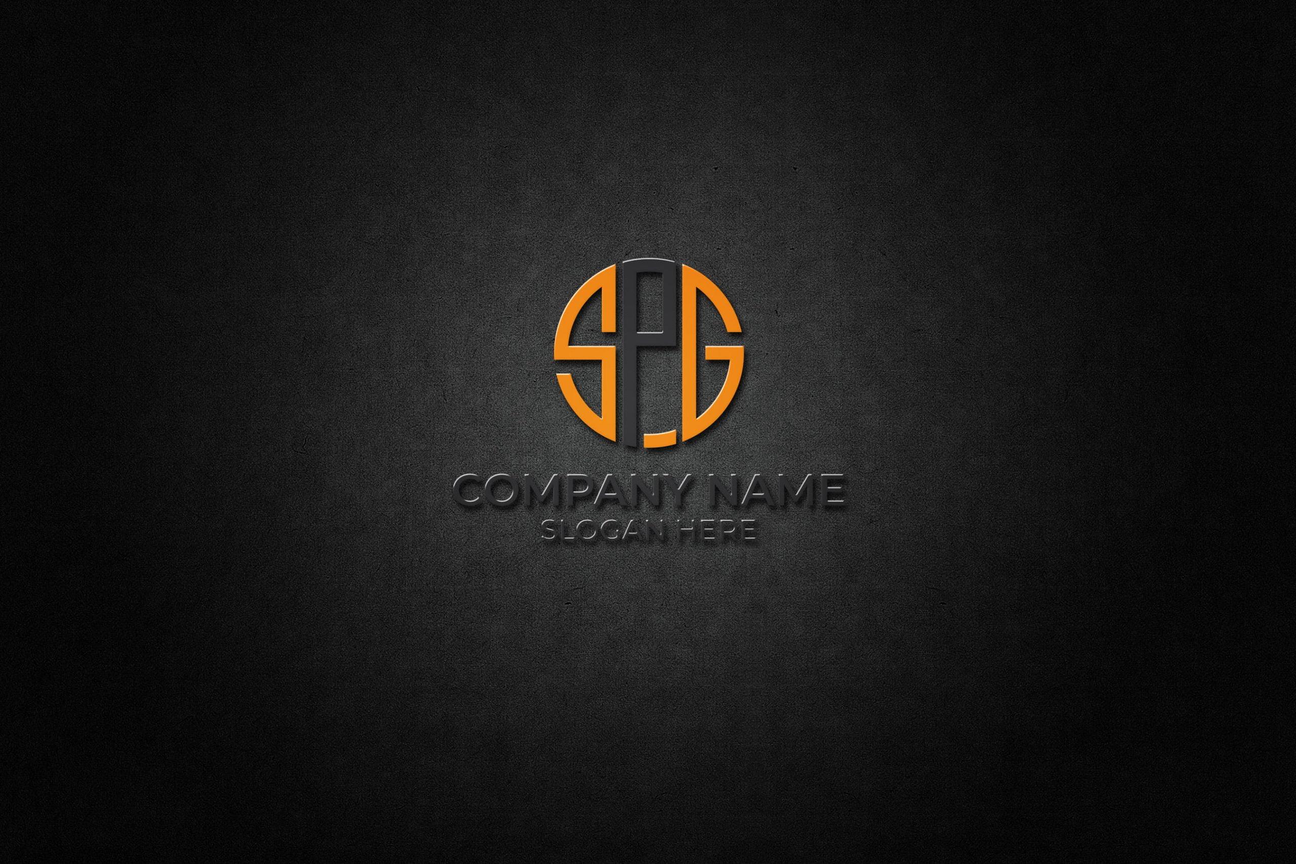 SPG Logo Design Free Vector