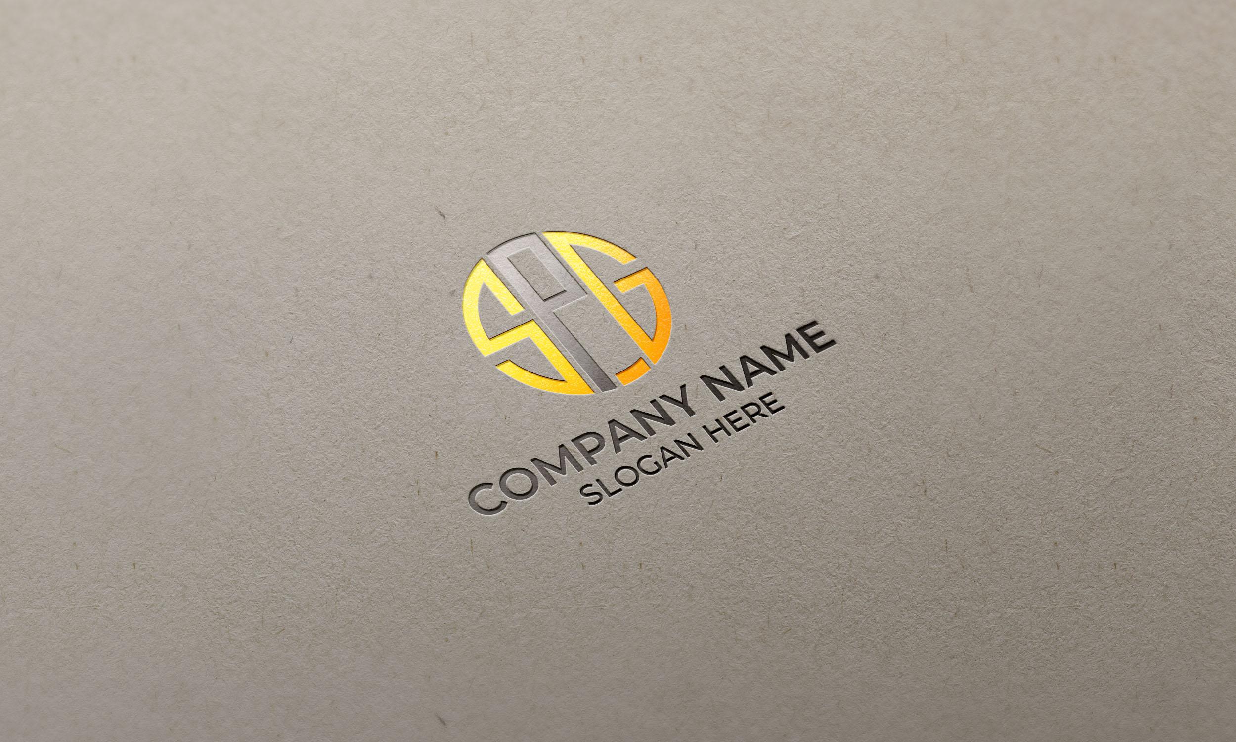 SPG Logo on glossy letterpress mockup