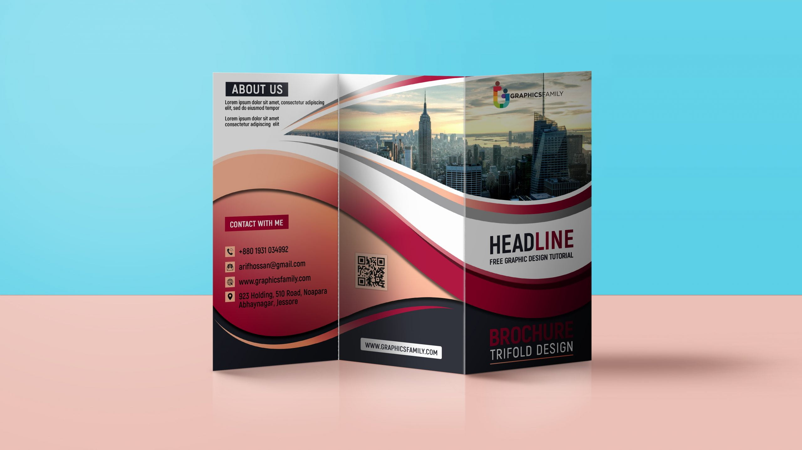 Trifold Brochure Design For Business Promotion