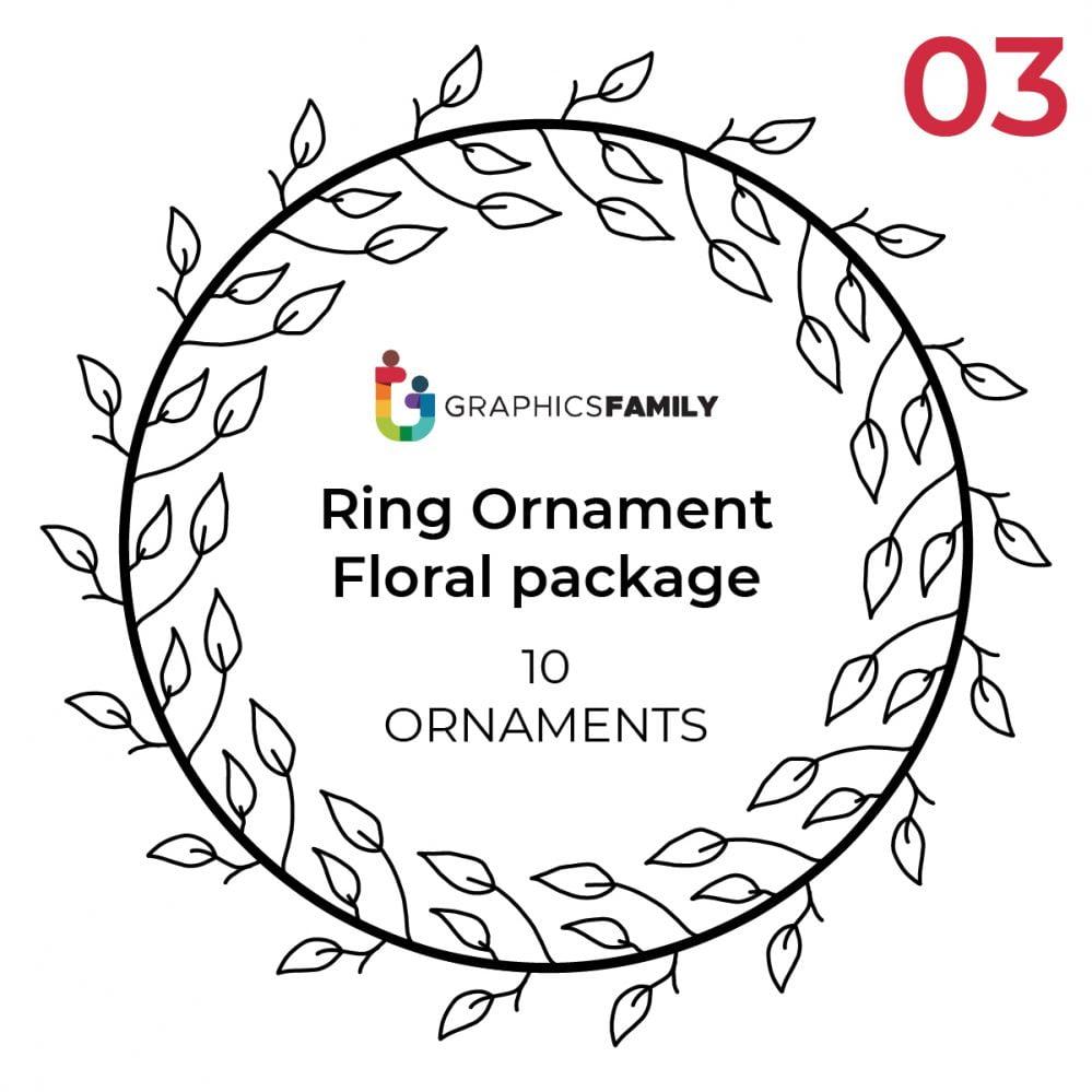 Free Circular Ornaments Vectors Pack