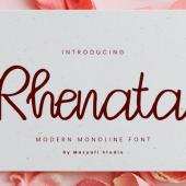 Free Rhenata Beauty Font