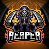 Reaper Esport Mascot Logo