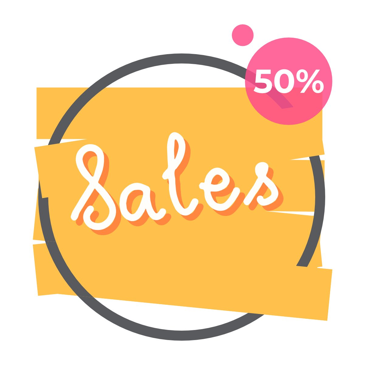Colorful sale banner collection2