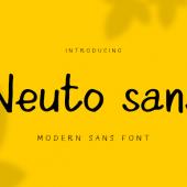 Free Neuto Sans font