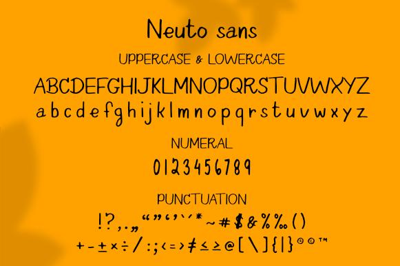 Neuto Sans Font