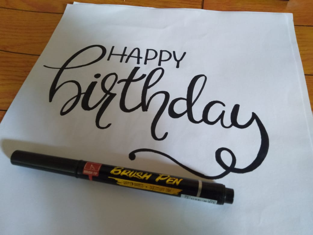 Funny hand drawn birthday collection download