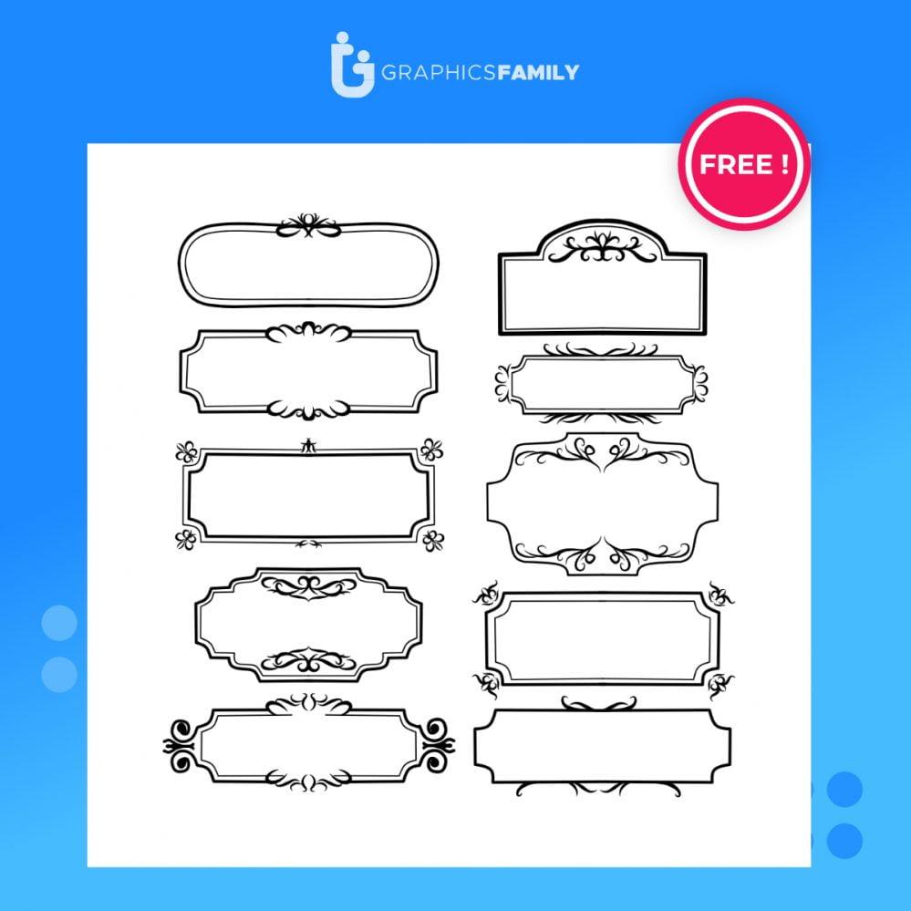 Free Download Ornamental frames