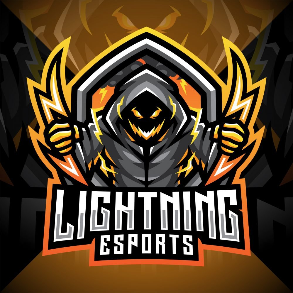 Lightning Esport Mascot Logo