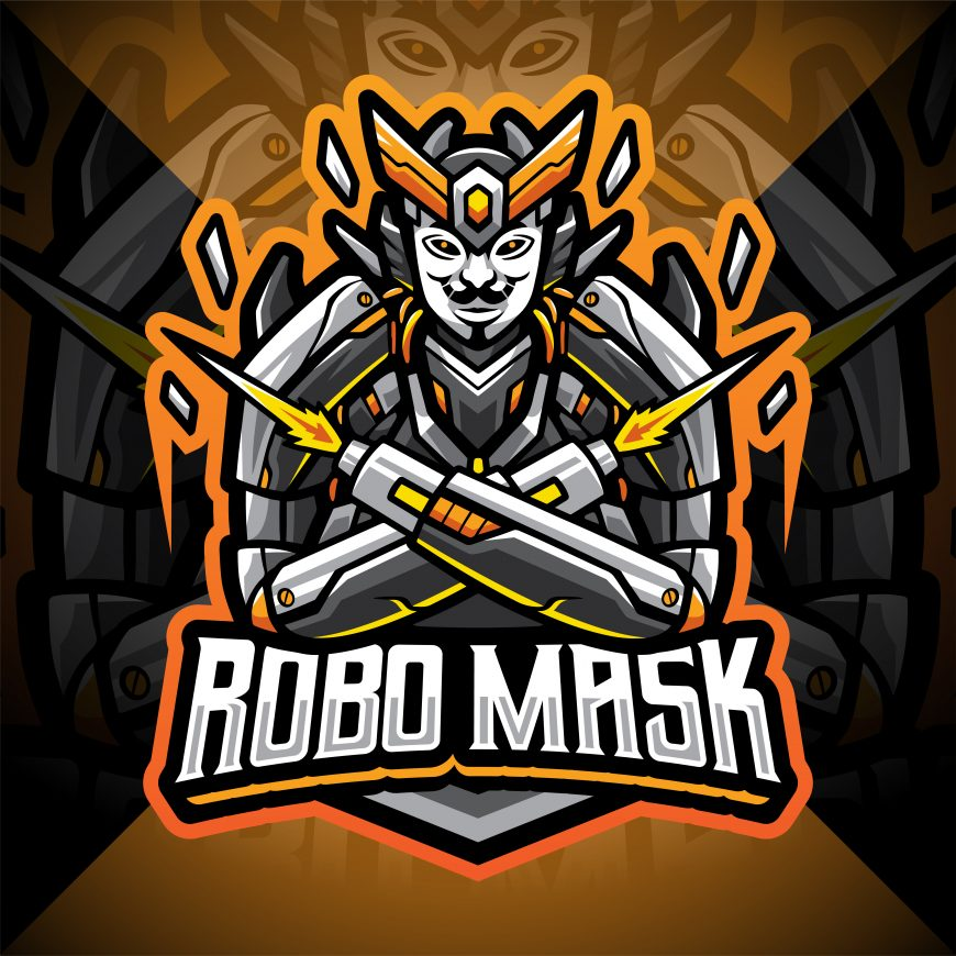 Anonymous Esport Mascot Logo