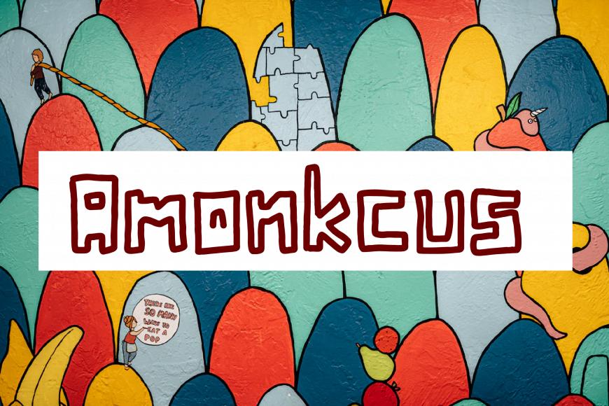 Amonkcus Font