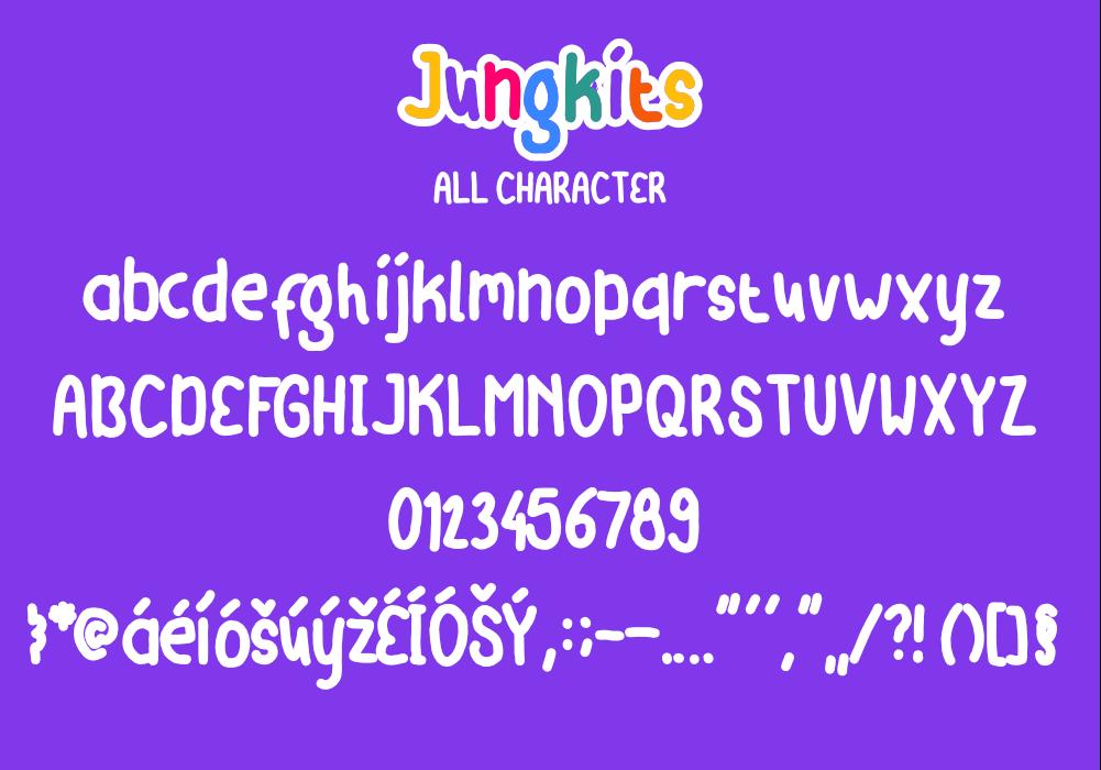 Jungkits Font
