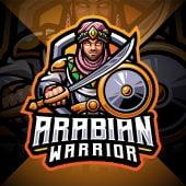 Arabian Warriors Esport Mascot Logo