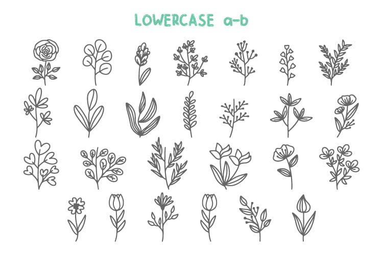 Botani - Floral Dingbats