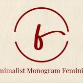 Monogram Feminine Font