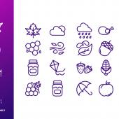 Best Autumn Icon Set Free Download