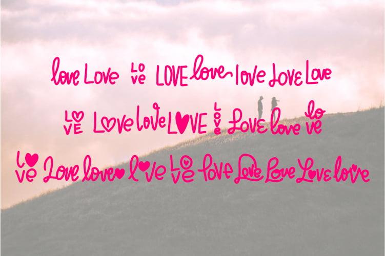 Beloved - Lovely Dingbat Font