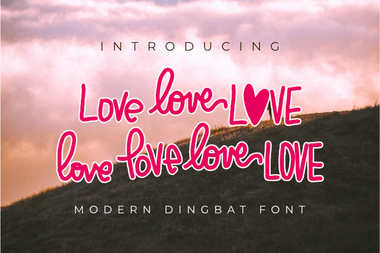 Beloved - Lovely Dingbat Font