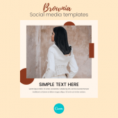 Free Brownia – Social Media Templates