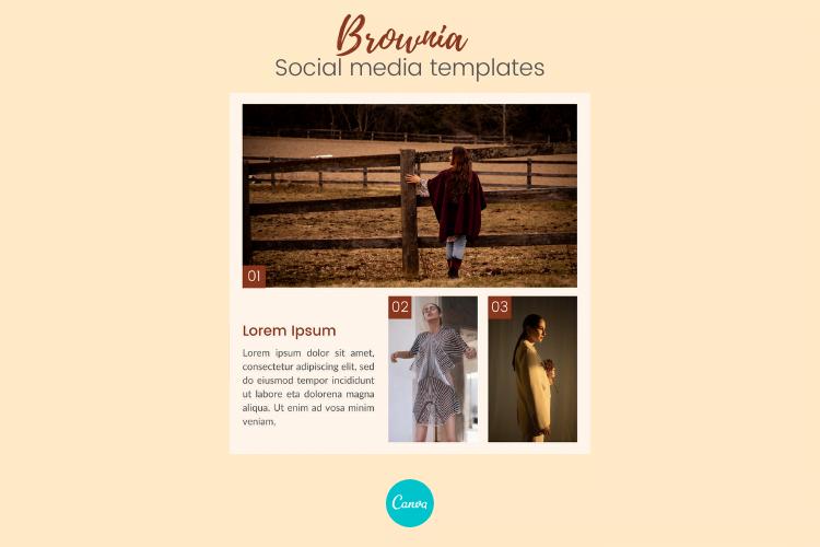 Free Brownia - Social Media Templates