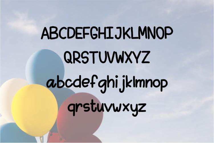 Free Kidso - Display font