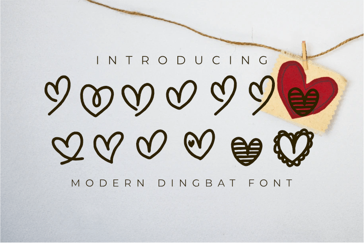 Free Lonelly - Dingbat font