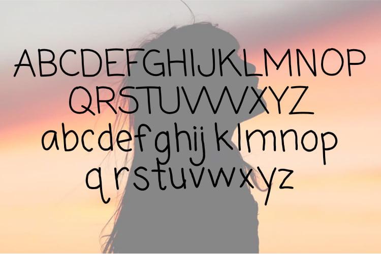 Free Meyra - Display font
