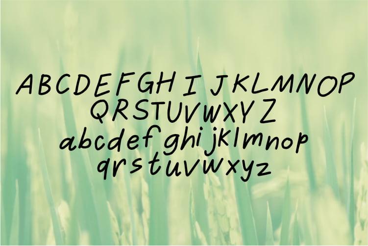 Free Rahayyu - Display font