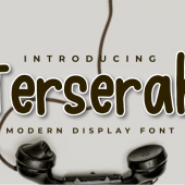 Free Terserah – Display Font