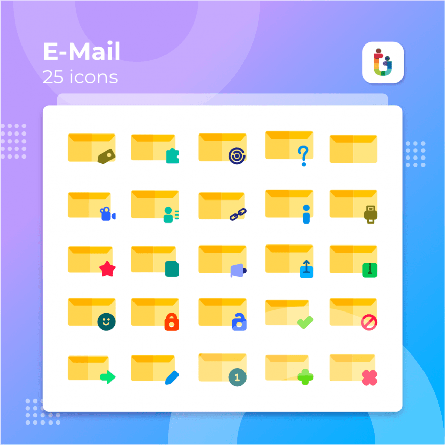 E-mail-icons