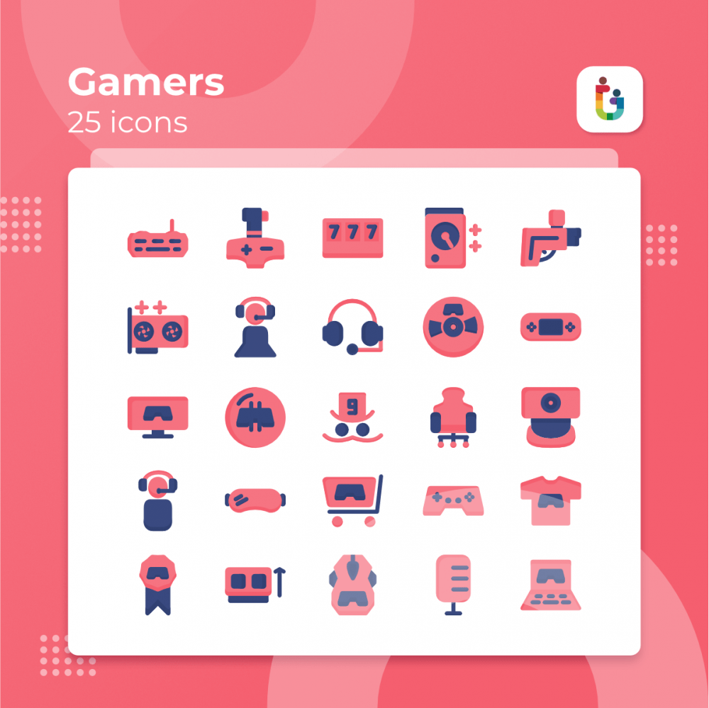 Gamers-icons