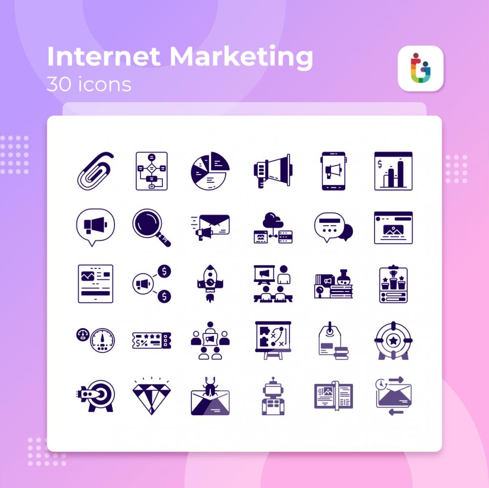 Internet-Marketing-icons