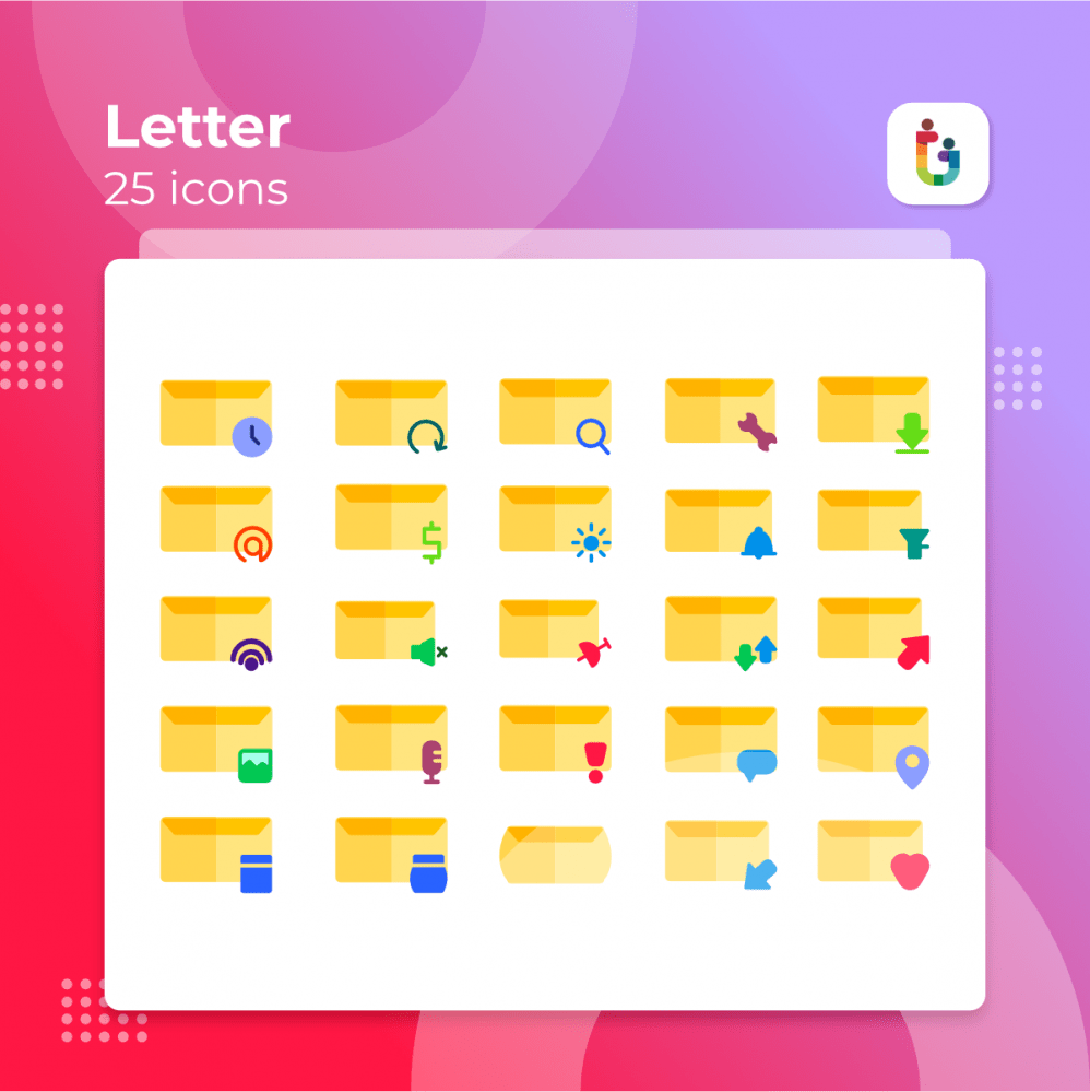 Letter-icons