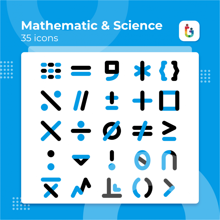 Mathematic-And-Science-icons