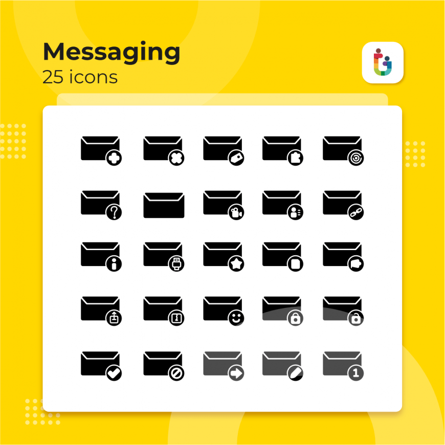 Messaging-icons