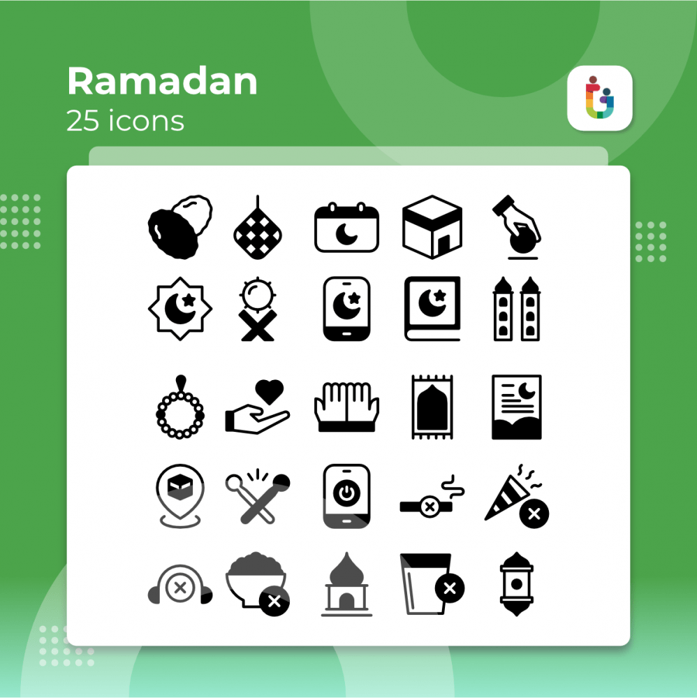 Ramadan-icons