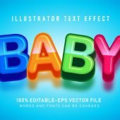 Sweet colorful Text Effect