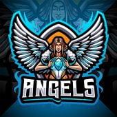 Angels Esport Mascot Logo