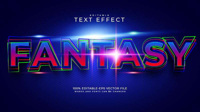 Fantasia Text Effect