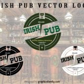 Free Irish Pub Logo Source .ai