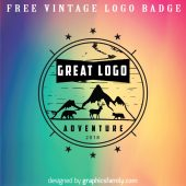 Vintage Logo Badge Source .ai