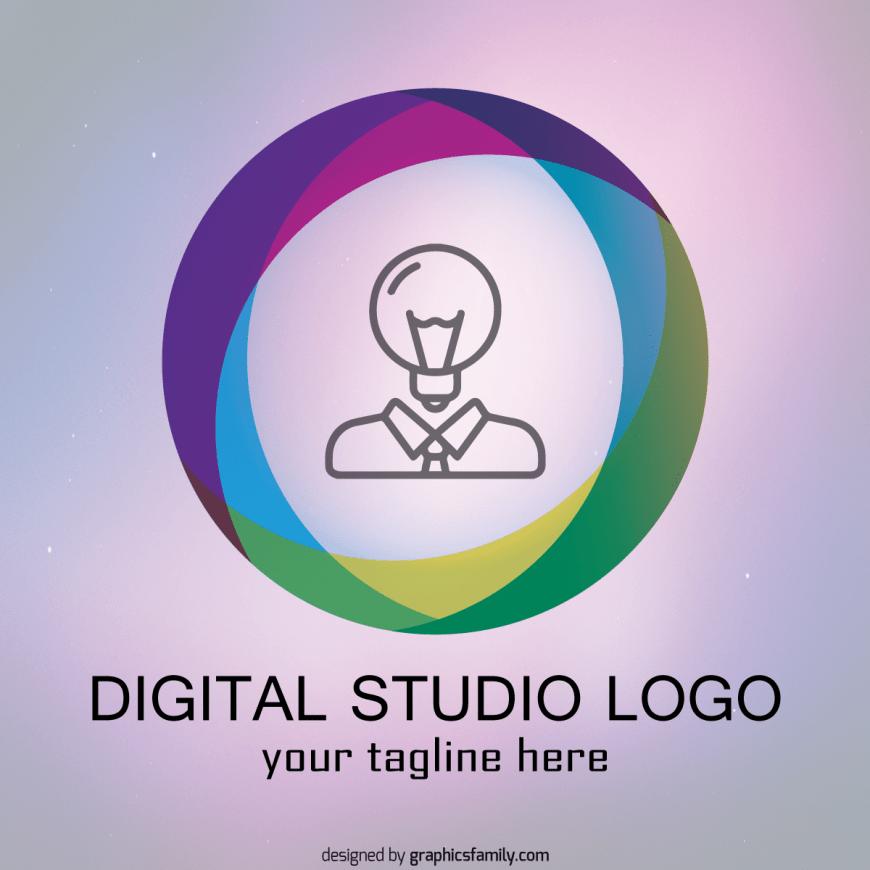 digital-studio-logo-template