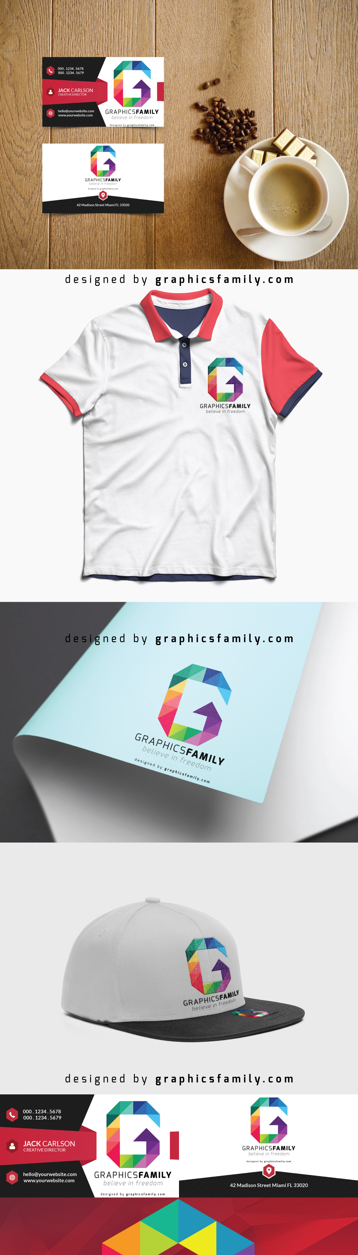 G Letter Free Logo - Low Poly