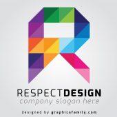 R Letter Logo Idea